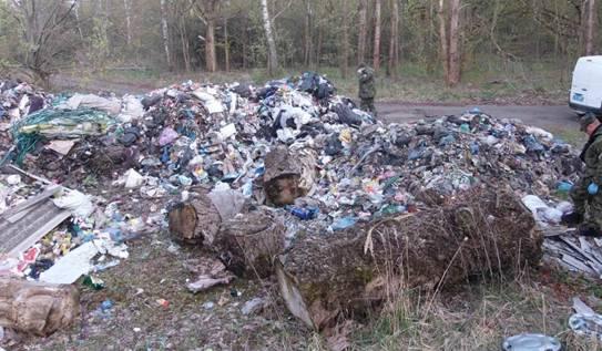 Львівське сміття дісталося зони відчуження (ФОТО)