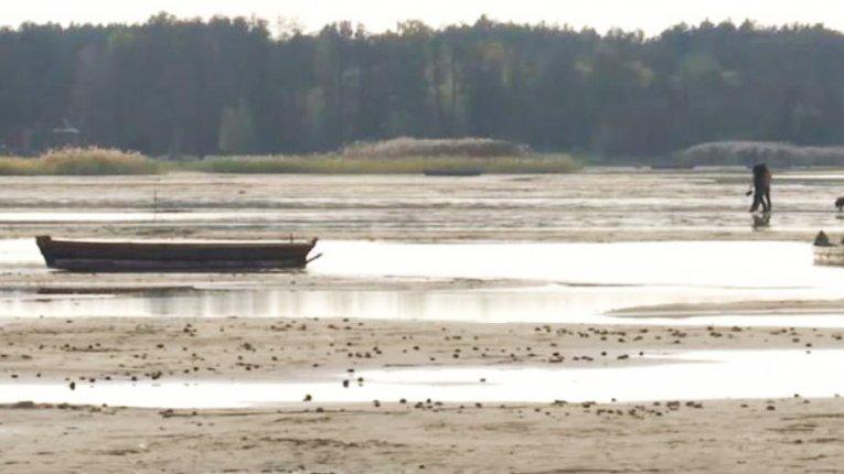 Поліція відкрила кримінальне провадження через обміління Шацьких озер на Волині